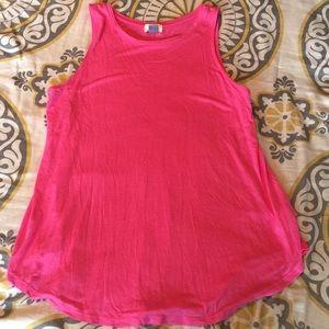 Old Navy pink sleeveless top Medium